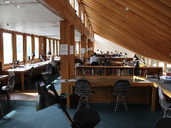 Upstairs in the Study Centre